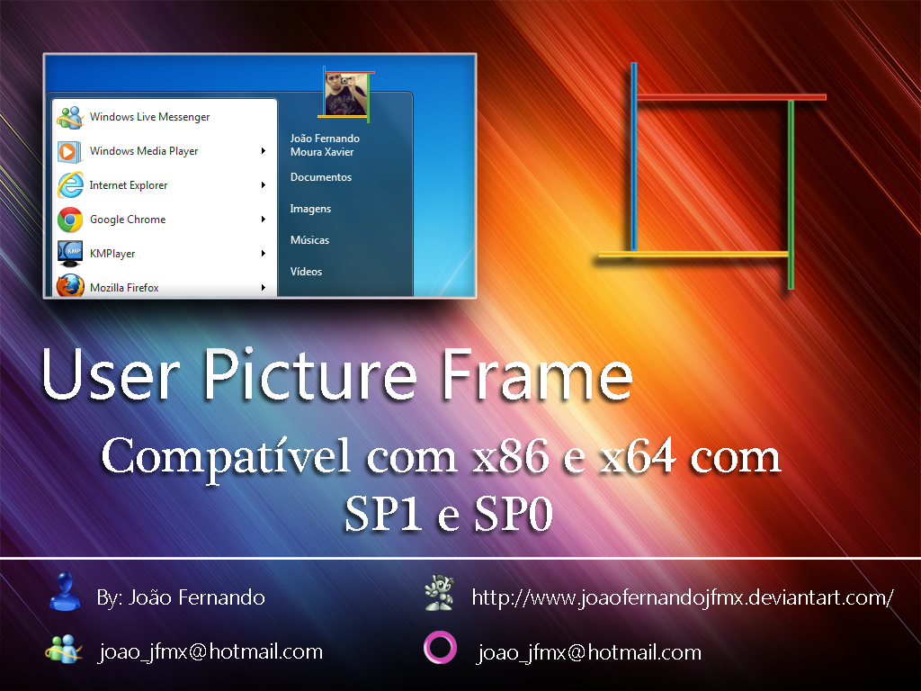 User picture frame 4colors by joaofernandojfmx on deviantart user picture frame 4colors by joaofernandojfmx jeuxipadfo Image collections