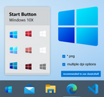 Start Button Windows 10x