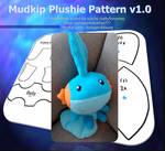 Mudkip Plushie Pattern v1.0