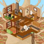 Chipper's Treehouse: Isometric Pixel