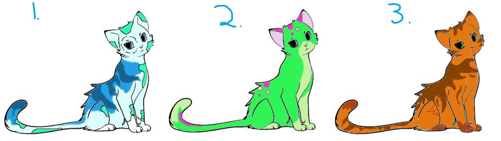 Cat Adopts by MintFireTheCat