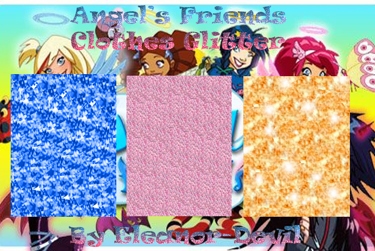 Angel's Friends Clothes Glitter by Eleanor-Devil