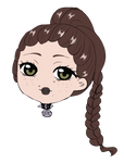 Chibi Headshot commission for miz-inthersky 2/2 by AimiMay