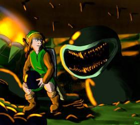 [Link's Awakening DX] Dodongo Snakes by Tiranofarl
