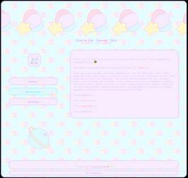 F2U Journal Skin: Starry Kei