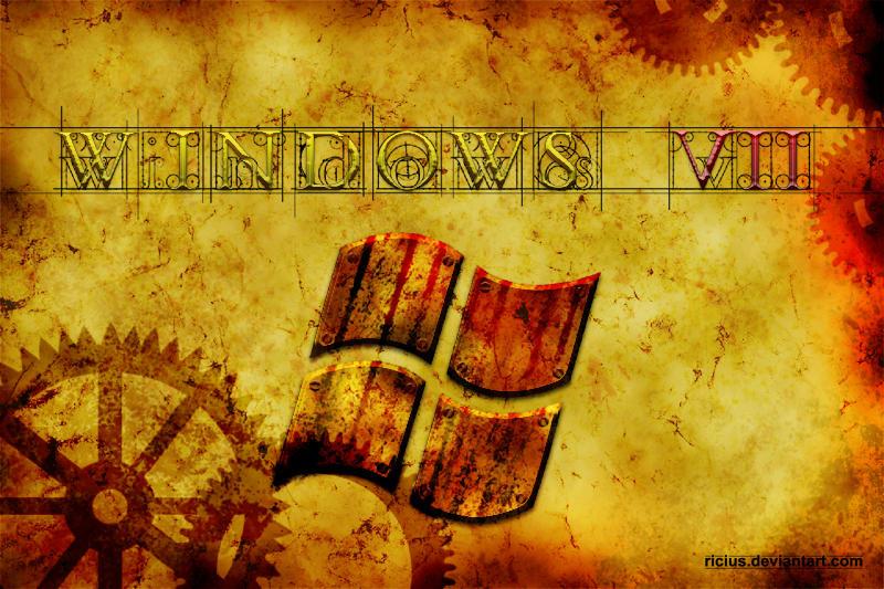 Windows 7 Steampunk Wallpaper By Ricius