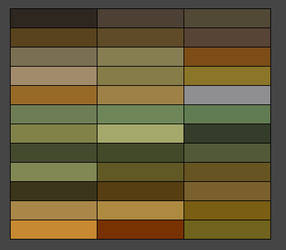 Eyes Palettes x6 by sallyannester