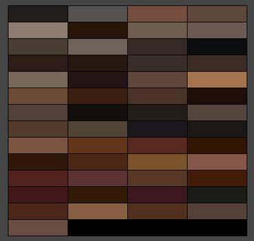 Hair palettes x6 by sallyannester