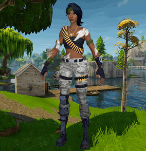 3D - Fortnite by XCurtainX on DeviantArt
