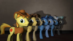 Male Pony Pack For SFM