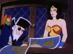 Sinbad Hypnotizes Wonder Woman