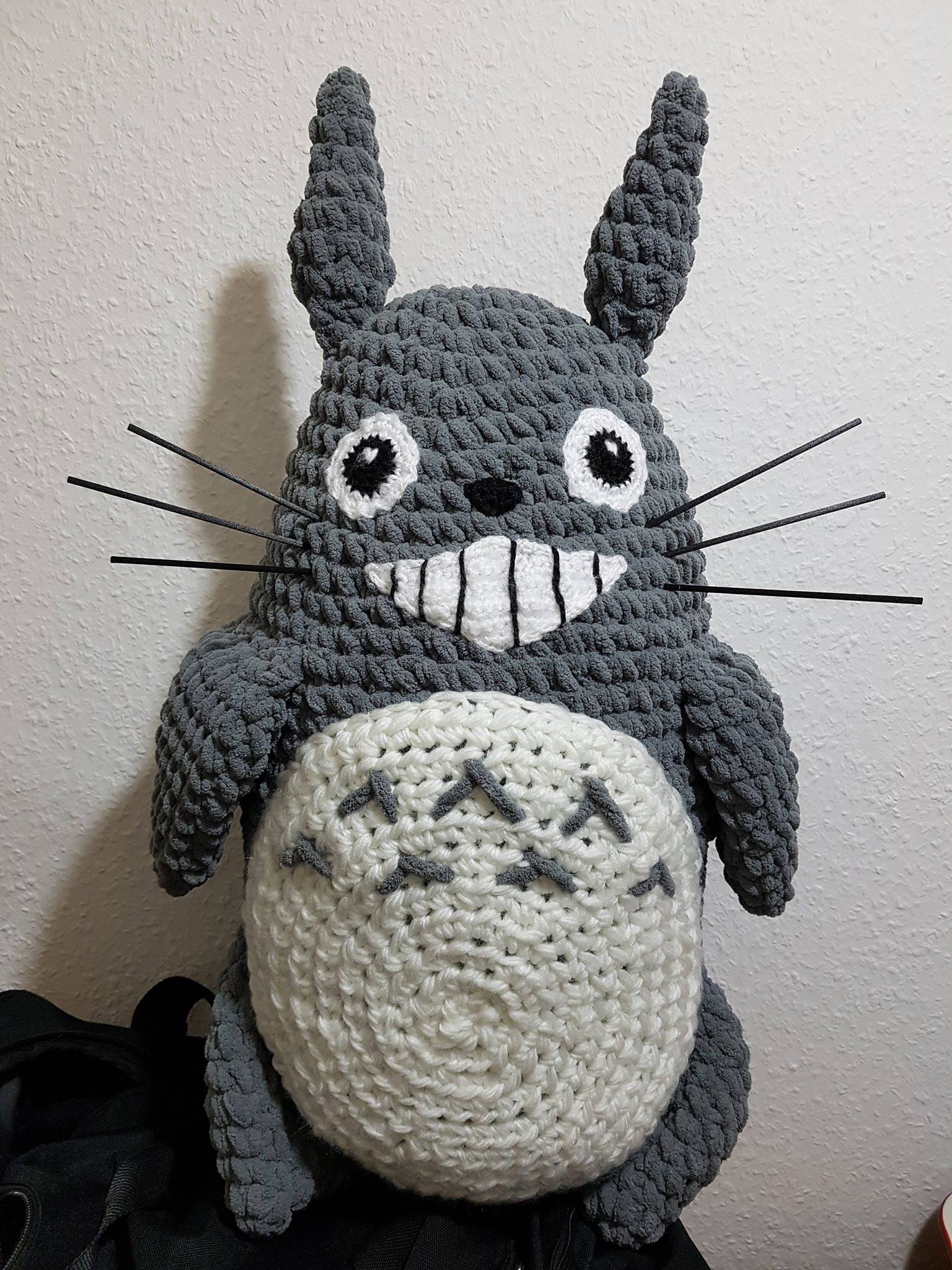 Big Totoro Pattern - Bing images