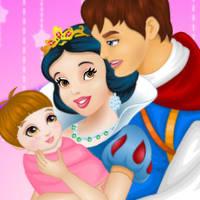 Snow White And Prince Care Newborn Princess by gamesgrow