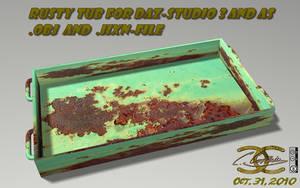Rusty tub for DAZ and as .OBJ by ancestorsrelic