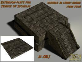 Temple of Sucuriju - Extension (.OBJ-file) by ancestorsrelic