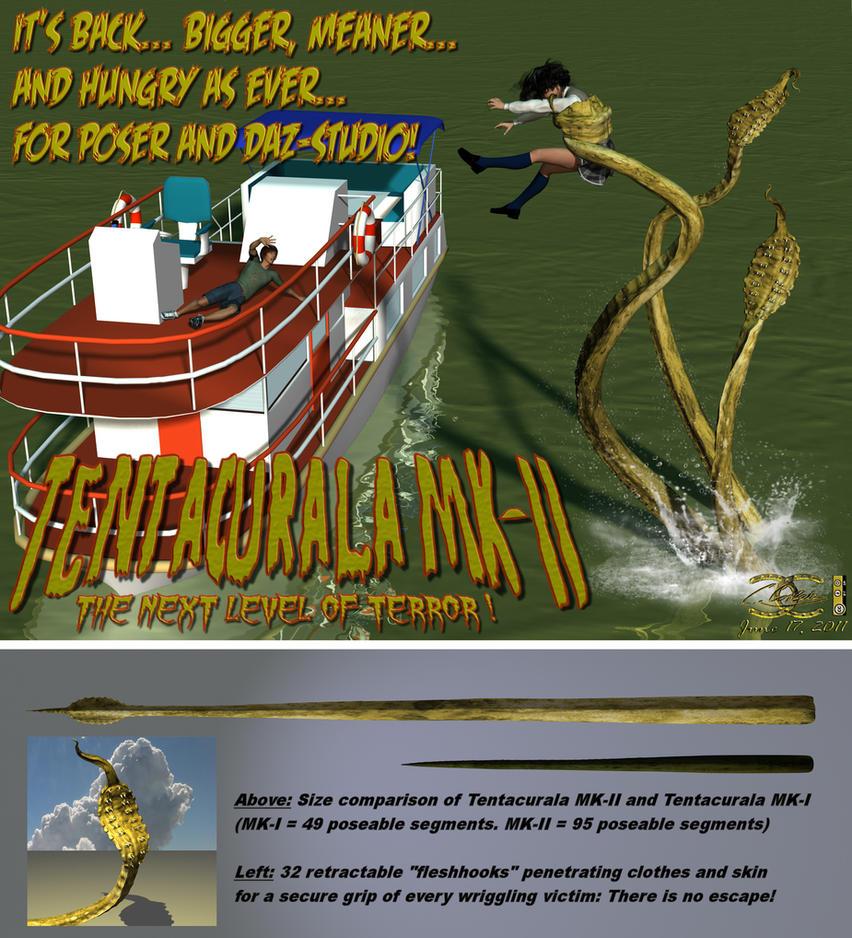 Tentacurala MK-II for Poser by ancestorsrelic