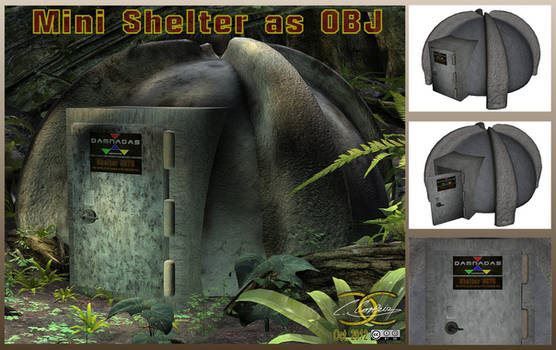 Mini Shelter as OBJ