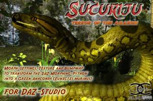 Anaconda-texture for DAZ Morphing-Python by ancestorsrelic