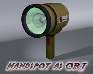 Handspot as OBJ