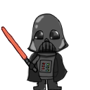 Interactive Vader Shimeji by Kranaylee