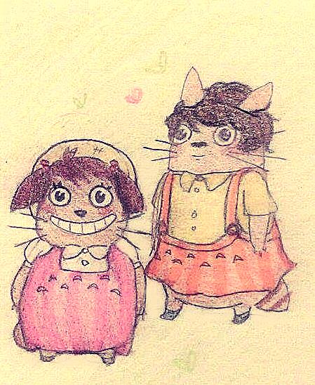 Mei and Satsuki by SlathBadgerGdcisBest
