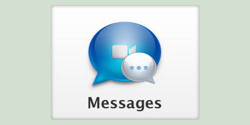Mac App Messages iCon