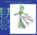 Pokemon Gardevoir Dressup V. 1
