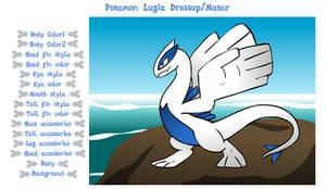 Pokemon Lugia Dressup Maker - Sound Warning