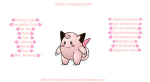 Clefairy Maker Dress Up Game by Creators-Paradise