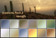 Gradients 2 by kazugfx