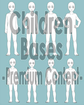 Children Bases -Front View, P2U-