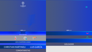 UEFA Champions League Desing