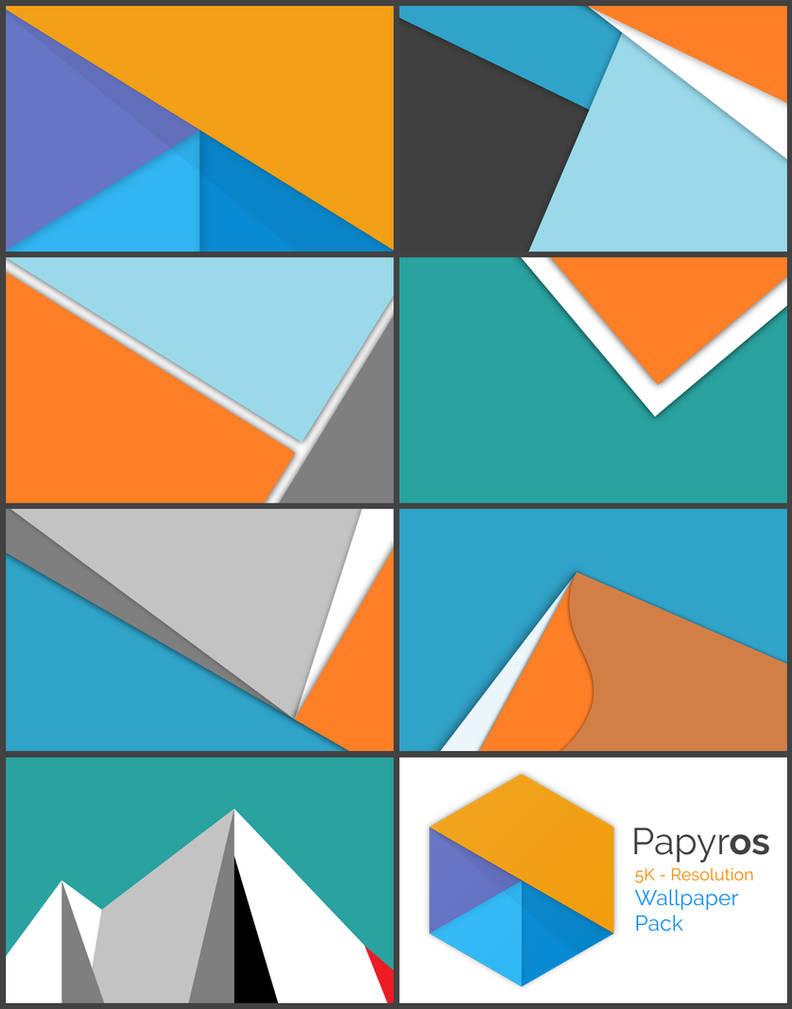 Papyros- 5K - Wallpaper Pack by niivu