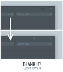 Blank It by niivu