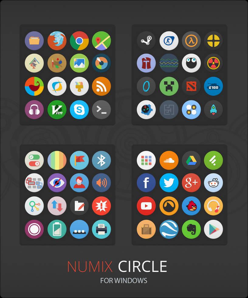 Numix Circle For Windows by niivu on DeviantArt