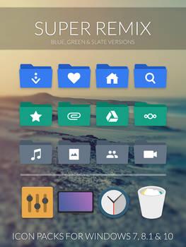 Super Remix Icon Packs by niivu
