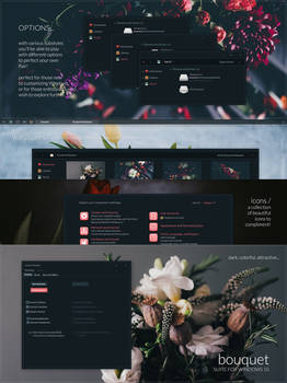 Bouquet Windows 10 Theme