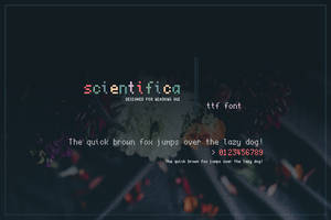 Scientifica Font by niivu