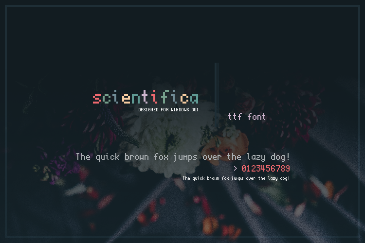 Scientifica Font by niivu