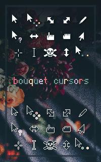 Bouquet Cursors