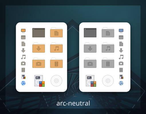 arc-neutral Icon Theme