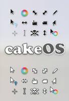 cakeOS Cursors by niivu