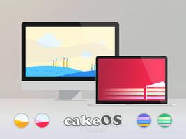 cakeOS - Spongy Fields by niivu