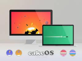 cakeOS - Planets by niivu