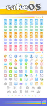 cakeOS colors Icon Theme