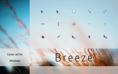 Breeze Cursors by niivu