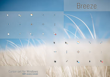 Breeze Cursors by niivu