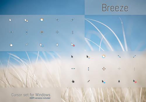 Breeze Cursors
