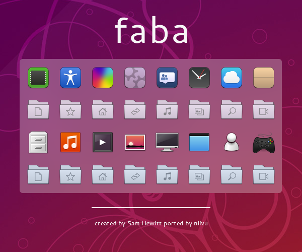 faba Icons