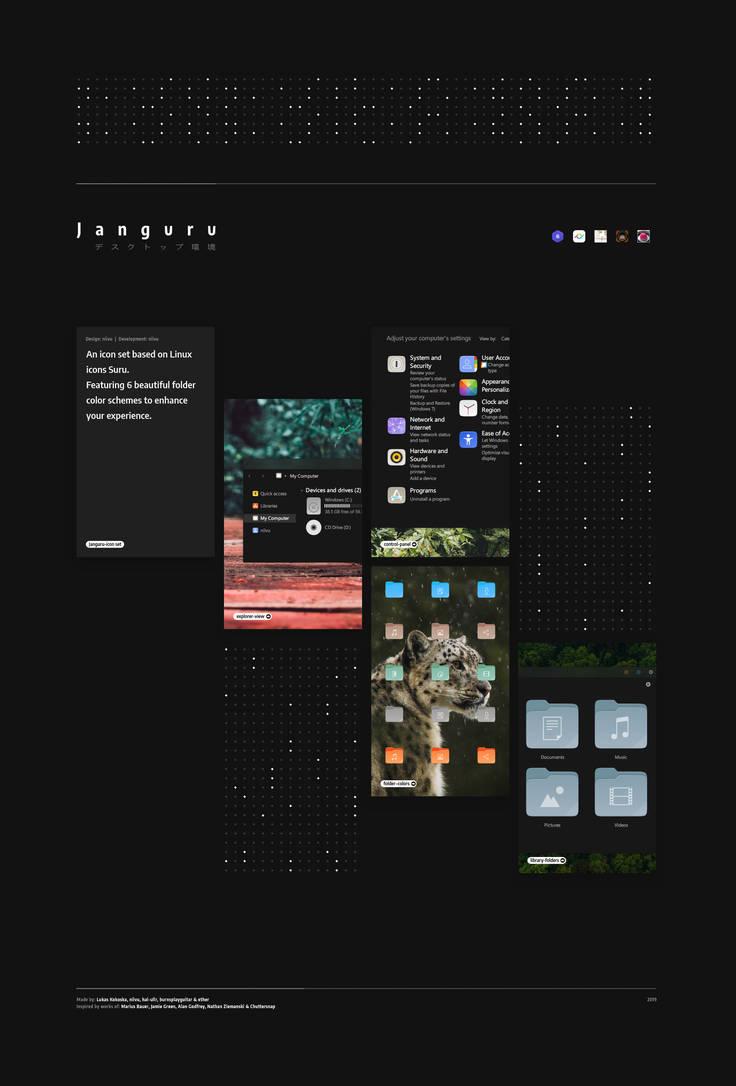 Janguru-Icons by niivu
